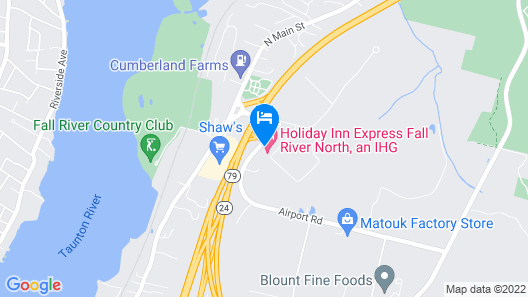 Holiday Inn Express Fall River North, an IHG Hotel Map