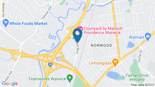 La Quinta Inn & Suites by Wyndham Warwick Providence Airport Map
