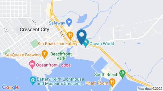 Oceanview Inn Map