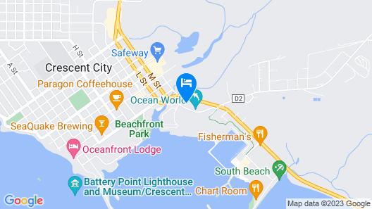 Oceanview Inn Map
