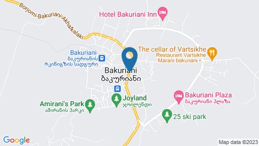 Amadeus Hotel Map