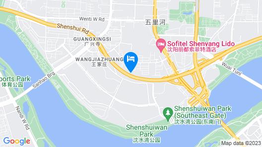 Sofitel Shenyang Lido Map