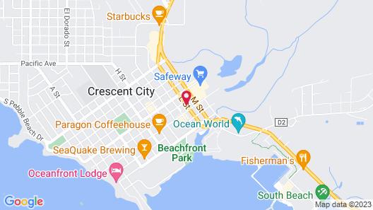 Redwood Inn Map