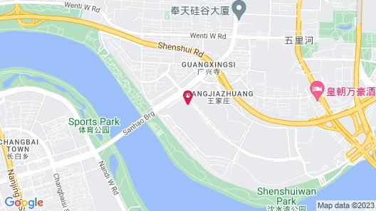 Hilton Shenyang Map