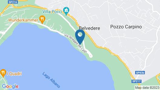 Villa Degli Angeli Map