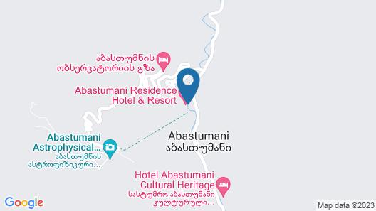 Abastumani Residence Map