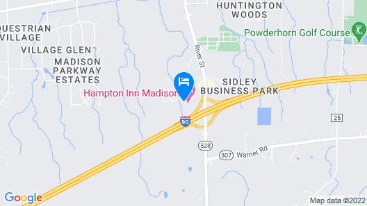 Holiday Inn Express & Suites Madison, an IHG Hotel Map