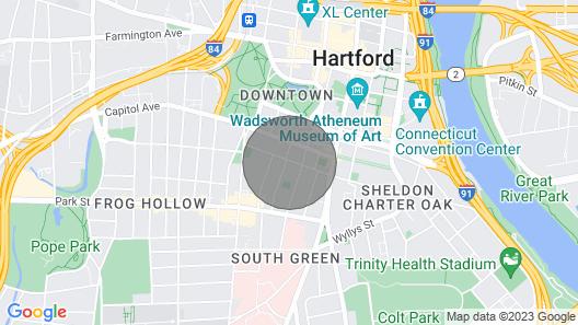 Urban Contemporary Buckingham Apartments Map
