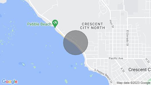 Bungalow Azul @ Pebble Beach. Newly Renovated Beachfront Bungalow! Map