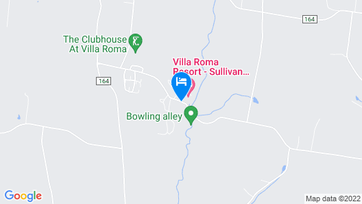 Villa Roma Resort and Conference Center Map