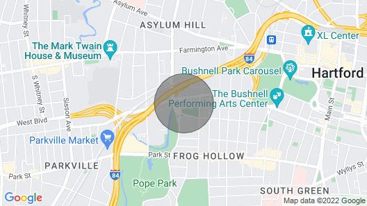 Historic Victorian Apartment, Close to Downtown, Hospital, Capitol Map