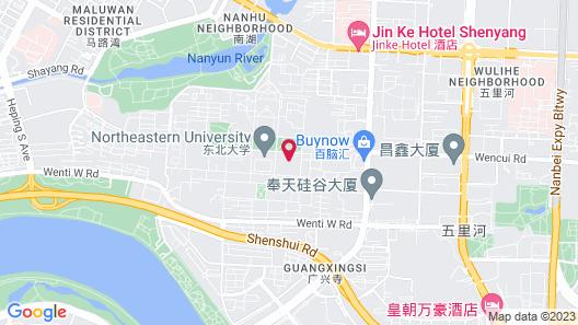 Metropolo Shenyang Sanhao Street Map