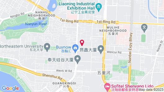 Holiday Inn Express Shenyang Golden Corridor, an IHG Hotel Map