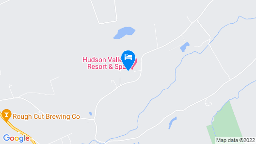 Hudson Valley Resort Map