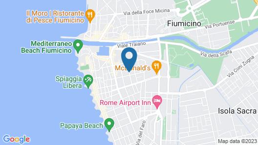 Comfort Hotel Fiumicino City Map