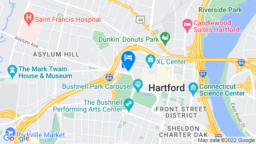 The Capitol Hotel, Ascend Hotel Collection Map