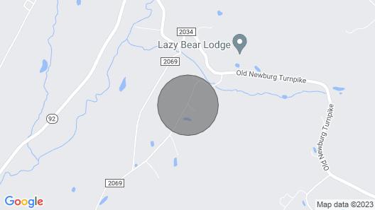 Tentrr - Hidden Falls Map
