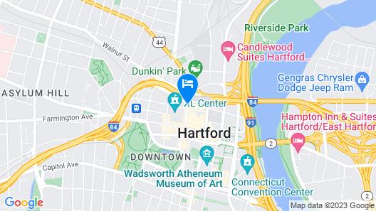 Hilton Hartford Map