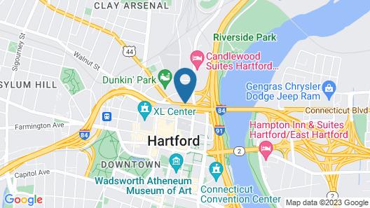 Red Lion Hotel Hartford Map