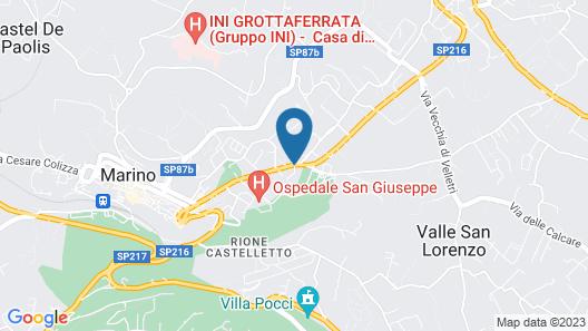 B&B Vittoria Colonna Map
