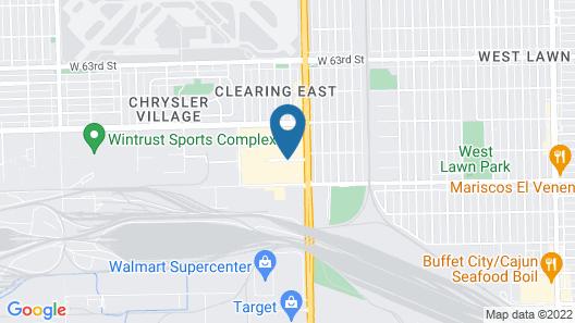 Fairfield Inn and Suites by Marriott Chicago Midway Airport Map