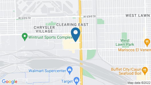Courtyard by Marriott Chicago Midway Airport Map