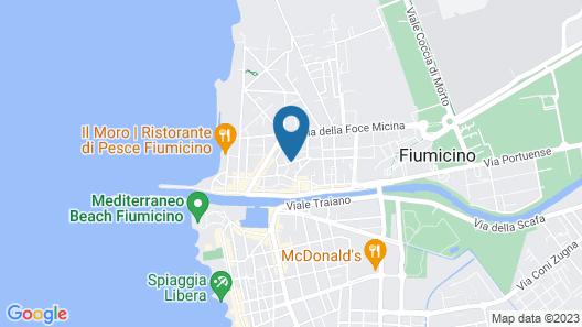 Hotel La Villetta Map