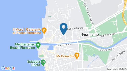 Hotel Seccy Map