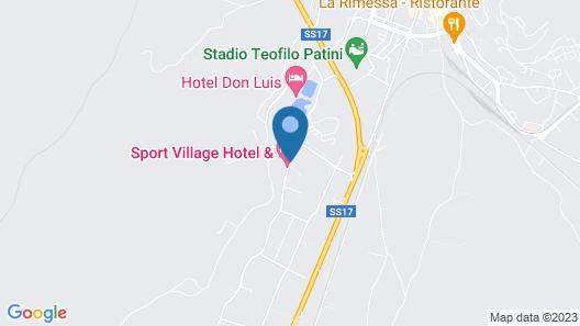 Sport Village Hotel & Spa Map