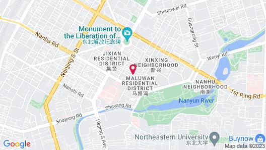 Jinjiang Inn Shenyang Northeastern University Map