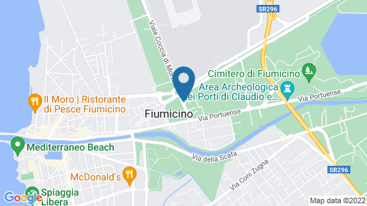 Fiumicino A57 Map