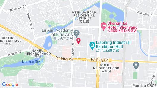 Grand Hyatt Shenyang Map