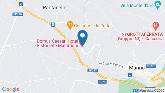 Domus Caesari Map