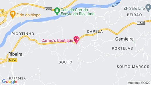 Carmo's Boutique Hotel Map