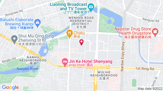 Shangri-La Shenyang Map