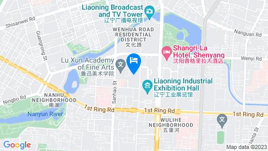 Shangri-La Hotel, Shenyang Map