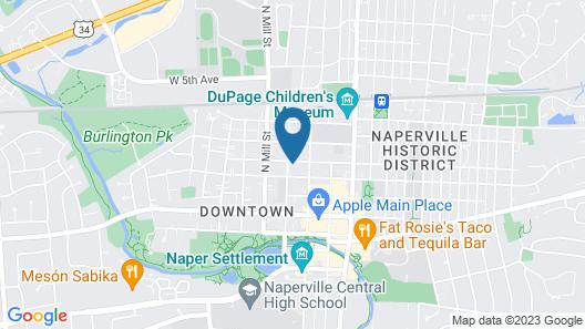 Harrison House Bed & Breakfast Map