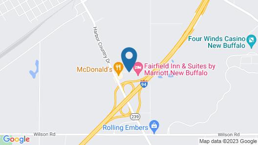 Fairfield Inn & Suites by Marriott New Buffalo Map
