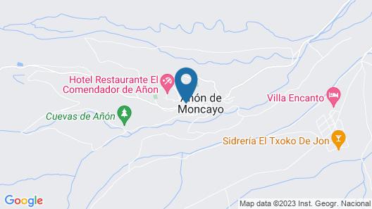 Castillo de Añón de Moncayo Map