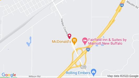 Baymont by Wyndham New Buffalo Map