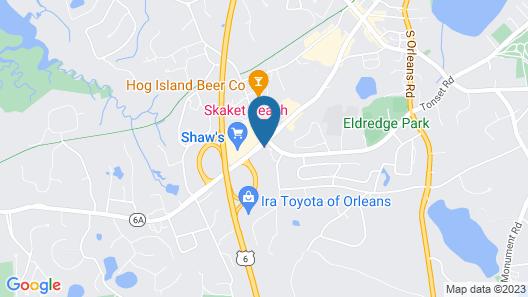 Skaket Beach Motel Map