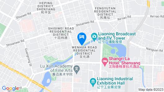 Kempinski Hotel Shenyang Map