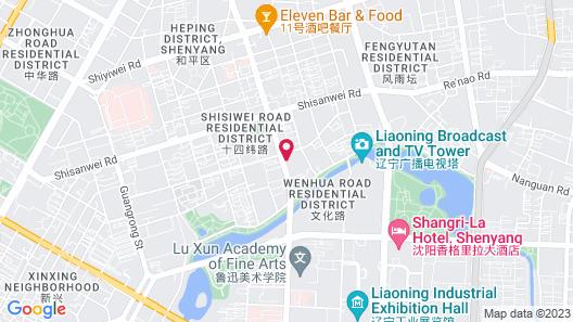 JI Hotel Shenyang Consulate Branch Map
