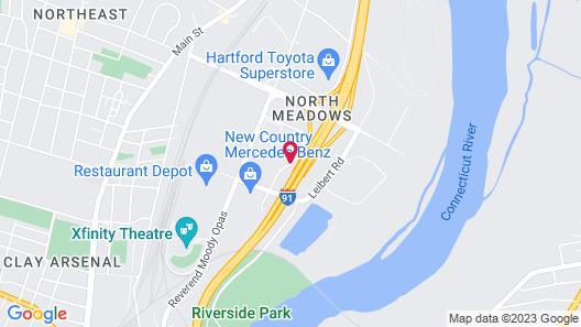 Super 8 by Wyndham Hartford Map