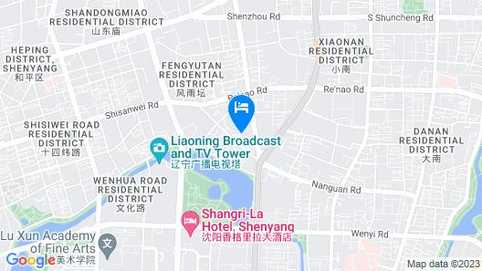 DoubleTree by Hilton Hotel Shenyang Map