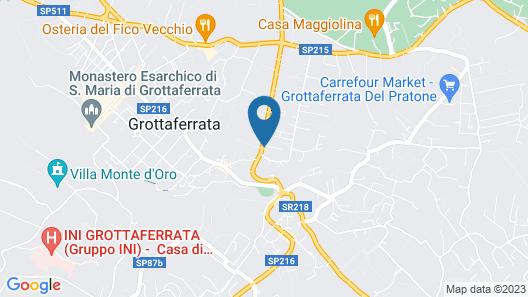 Villa Cavalletti Camere Map