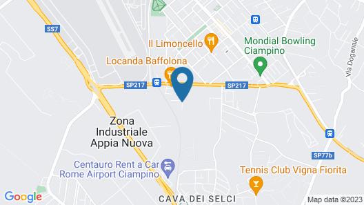 La Villetta Suite Map