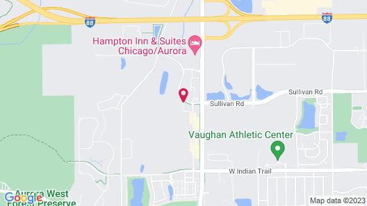 Holiday Inn Aurora North - Naperville, an IHG Hotel Map