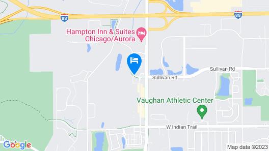 Holiday Inn Aurora North - Naperville Map