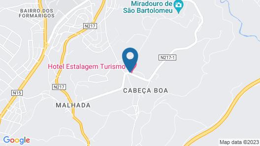 Hotel Estalagem Turismo Map